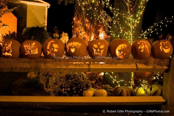 21 Ogunquit Halloween - Anchorage JackOLanterns - Night